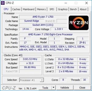 p02 R7-1700 default CPU-Z cpu