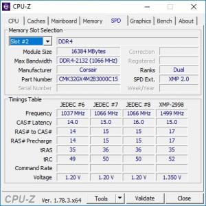 p06 R7-1700 default CPU-Z spd